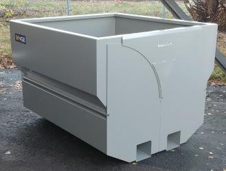 Rubaek BINGE 2600 Höjd 1100 mm RAL 9007