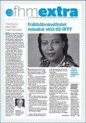Nyhetsbrev 1, hösten 2010 Minskat stöd till SFFF