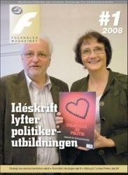 # 01 / 2008 Idéskrift lyfter politikerutbildningen