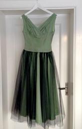 Vintage tyllklänning