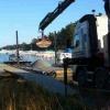 lastning material sjötransport