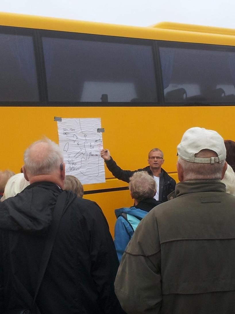 Magnus föreläser om de baltiska ländernas historia