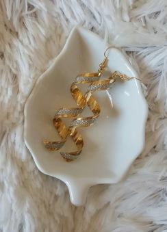 Skruven - Skruvörhänge - guld