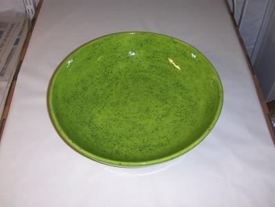 Fruktfat i limegrön, 30 cm.  350:-