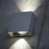 Modern fasadbelysning för vägg och fasad, up & down light - Modell Klint by Roger Pradier - hos Alegni Interiors i Stockholm