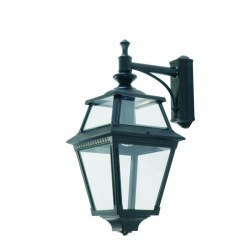 Utomhusbelysning, klassisk utelampa för vägg, svängd arm IP44 - Alegni Interiors