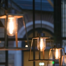 Utebelysning industriell stil , vägg och tak -  Alegni Interiors, Stockholm