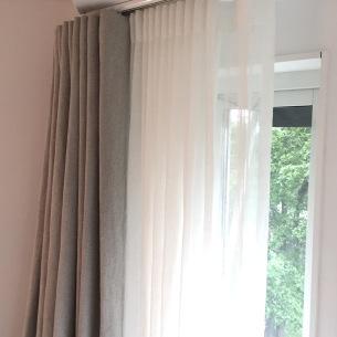 Dubbla gardiner - Alegni Interiors Stockholm