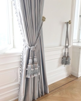 Måttbeställda fodrade gardiner  -  Alegni Interiors Stockholm