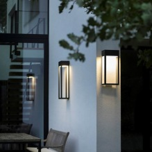 Utebelysning - Kollektion Hogar, IP65 - Modell 1 och 2, utelampa vägg  - Modern utomhusbelysning - Alegni Interiors
