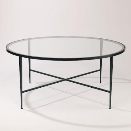 Picture cred  Vaughan Designs - Lena soffbord glas brons - hos Alegni Interiors Stockholm