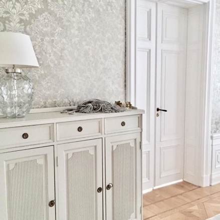Tapetsering Mulberry Home - Alegni Interiors Stockholm