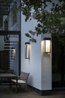 Utebelysning - moderna utelampor - fasadbelysning - hos Alegni Interiors Stockholm