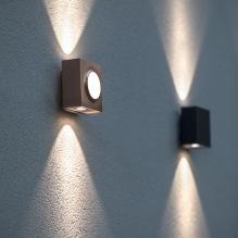 Utelampa Klint för vägg - modell 1 och 2 - Alegni Interiors Stockholm