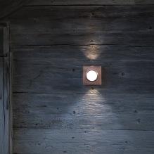 Uomhusbelysning Klint - modell 1 - Alegni Interiors Stockholm