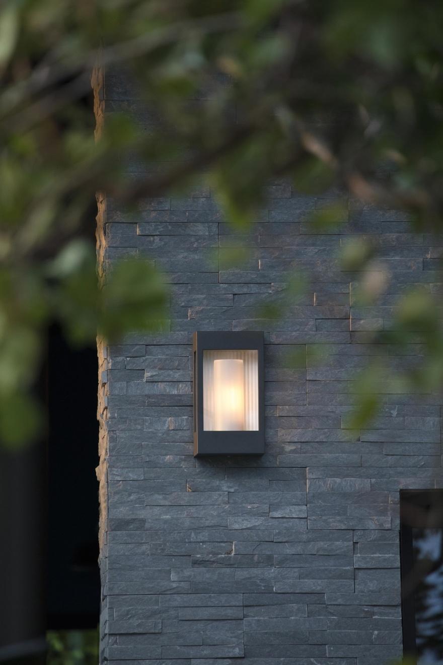 Modern utebelysning - vägg & pollare - hos Roger Pradier