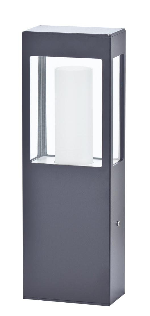 Modern utomhusbelysning - Kollektion Brick - Modell 2, pollare låg - hos Alegni Interiors Stockholm
