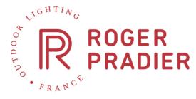 Återförsäljare i Sverige av den franska utomhusbelysningen från Roger Pradier