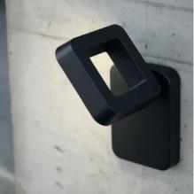 Utomhusbelysning  - Kollektion Square LED - Utelampa vägg - Modern utebelysning - Alegni Interiors, Stockholm