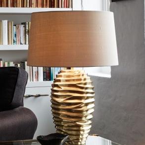 Bordslampa by Vaughan Designs - Modell Bologna i mässing - beställ hos Alegni Design Interiors Stockholm
