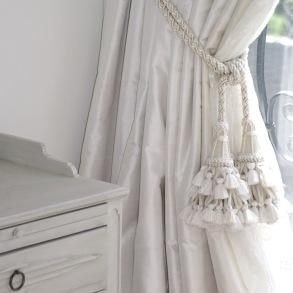 Måttbeställda gardiner - hos Alegni Interiors Stockholm