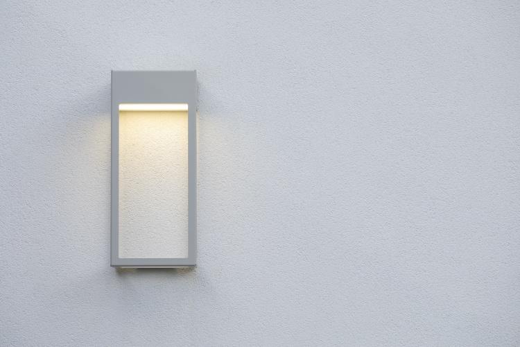 Modern utomhusbelysning - Kollektion Brick - Modell 1, vägg - hos Alegni Interiors Stockholm