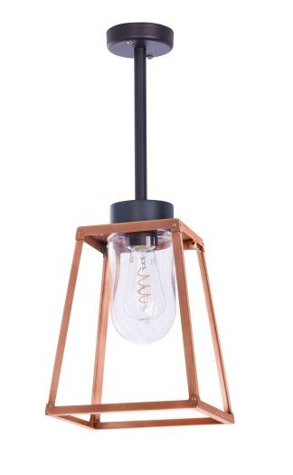 Modern utebelysning - Kollektion Lampiok - modell 2 tak i koppar- hos Alegni Interiors Stockholm