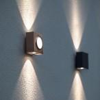 Kollektion Klint, väggmodell med integrerad led - modern utebelysning - hos Alegni Design Interiors, Stockholm