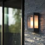 Kollektion Brick, mod 1, vägglampa - modern utebelysning - hos Alegni Design Interiors, Stockholm