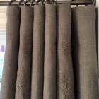 Bränd gardinstång i 12mm smide med pålatta avslut - Maria Lilliecreutz Design