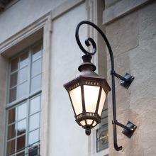 Utomhusbelysning - Kollektion Citadelle, modell 3, stor vägglykta, utelampa, klassisk utebelysning - Alegni Interiors