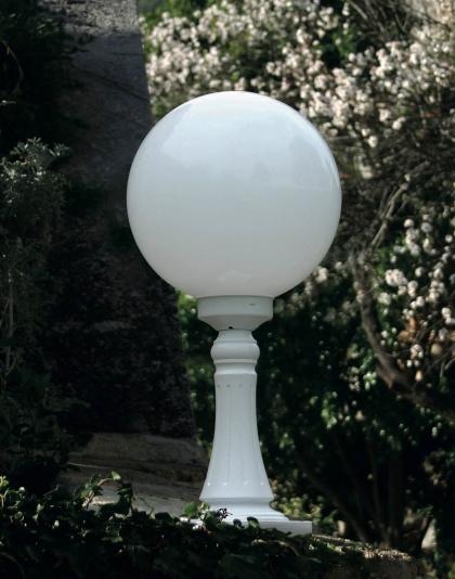 Utebelysning, pollare för grindstolpe - Kollektion Moon - Modell 7 - hos Alegni Interiors Stockholm