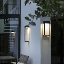 Modern fasadbelysning med integrerad LED - IP65 - utebelysning - Kollektion Hogar - hos Alegni Design Interiors, Stockholm