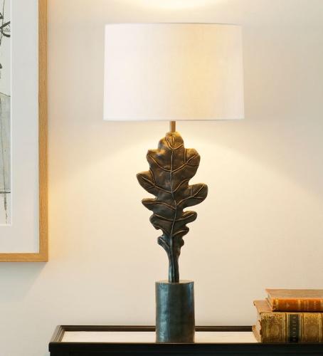 Bordslampa Polesden - mässing och brons  - by Vaughan Designs - beställ hos Alegni Design Interiors, Stockholm