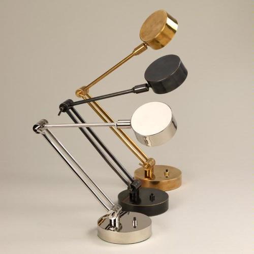Bordslampa Faringdon - mässing, brons och nickel - by Vaughan Designs - beställ hos Alegni Design Interiors, Stockholm