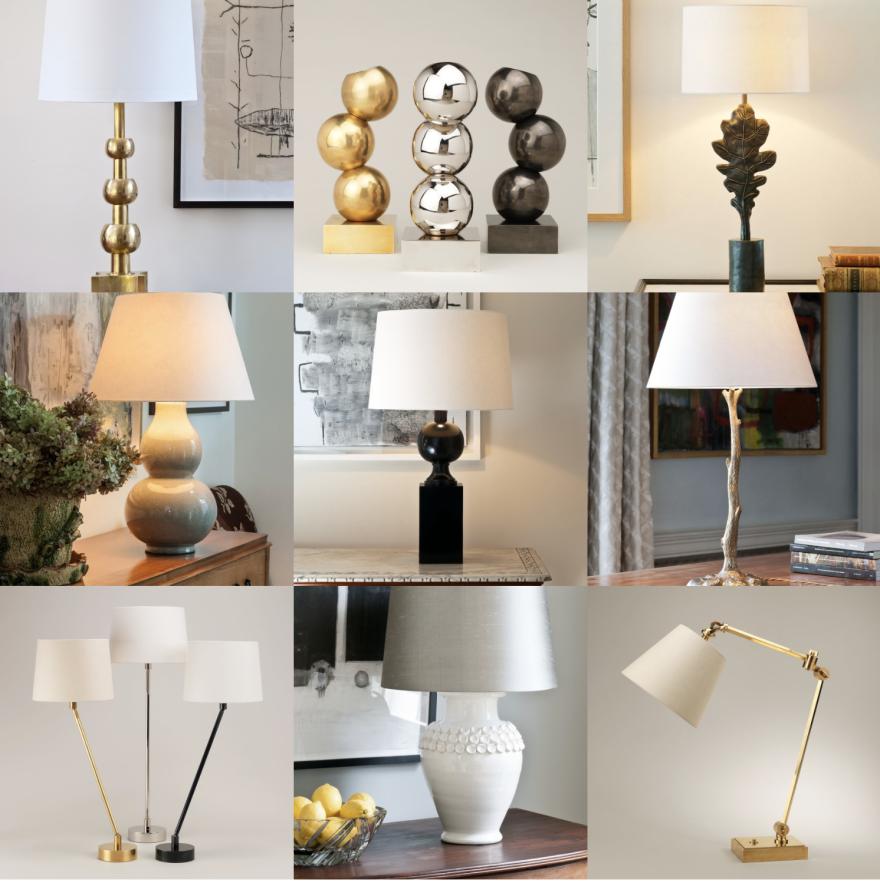 Bordslampor by Vaughan Designs - beställ från Alegni Design Interiors stockholm