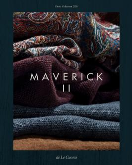Ny kollektion tyger - Maverick II från de Le Cuona - hos Alegni Interiors Stockholm