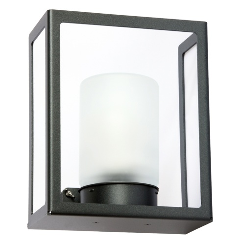 Modern utebelysning - Kollektion Hugy - Modell 1, vägg - hos Alegni Interiors Stockholm