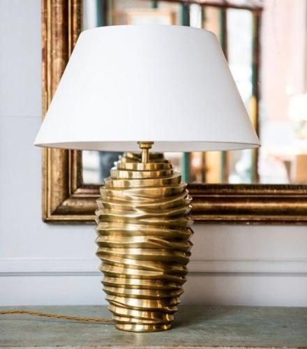 Bordslampa Bologna - mässing - by Vaughan Designs - beställ hos Alegni Design Interiors, Stockholm