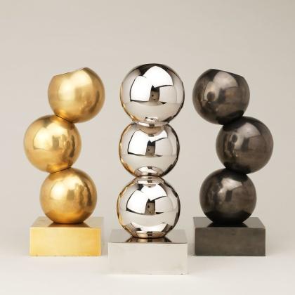 Liten bordslampa Buckland Uplight - mässing, brons och nickel - by Vaughan Designs - beställ hos Alegni Design Interiors, Stockholm