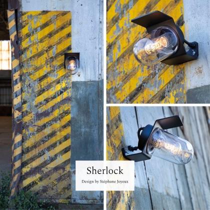 Modern utebelysning - Kollektion  Sherlock - by Roger Pradier - Återförsäljare i Sverige - Alegni Interiors Stockholm
