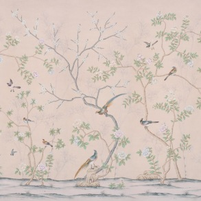 Handmålade tapeter - Kollektion de Gournay - beställ hos Alegni Interiors Stockholm