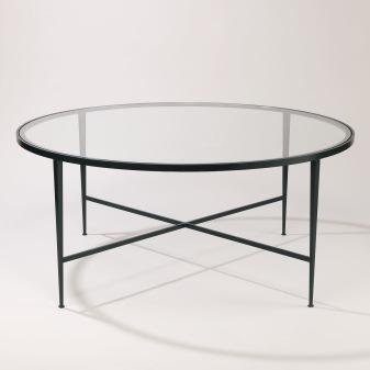 Glasbord Lena i brons - soffbord - Vaughan Design - hos Alegni Interiors, Stockholm