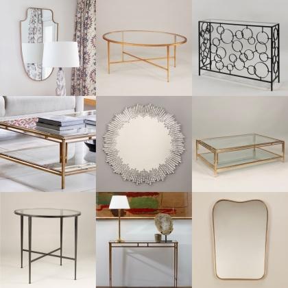 Beställ bord och speglar - Vaughan Designs - hos Alegni Design Interiors, Stockholm