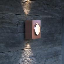Utebelysning - Kollektion Klint - Modell 1, utelampa vägg - Modern utomhusbelysning - Alegni Interiors