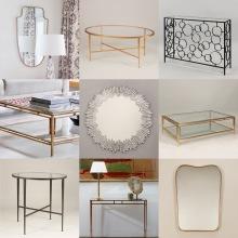 Inredning - Soffbord och speglar - Vaughan Designs - Återförsäljare Alegni Design Interiors, Stockholm