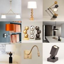 Belysning - lampor för vägg, bord och tak - Vaughan Designs - Återförsäljare Alegni Design Interiors, Stockholm