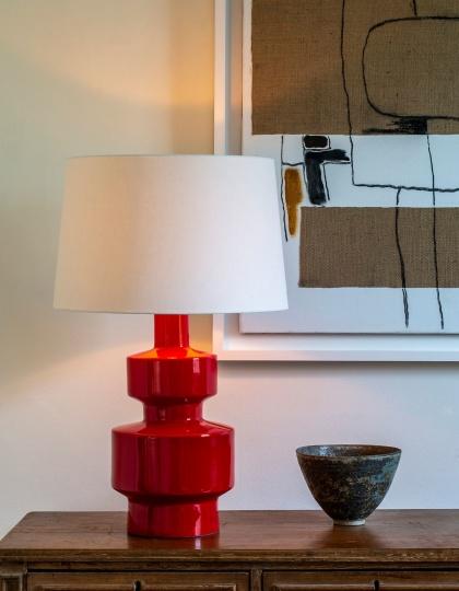 Bordslampa - NYHET - by Vaughan Designs - Kollektion Shoreham, glaserad keramik - hos Alegni Design Interiors, Stockholm