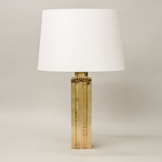 Bordslampa - NYHET - by Vaughan Designs - Kollektion  Hudson, mässing - hos Alegni Design Interiors, Stockholm