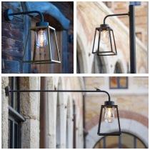 Modern utomhusbelysning - Belysning i fransk design - Vägg, tack & lyktstolpar - Kollektion Lampiok - hos Alegni Design Interiors, Stockholm